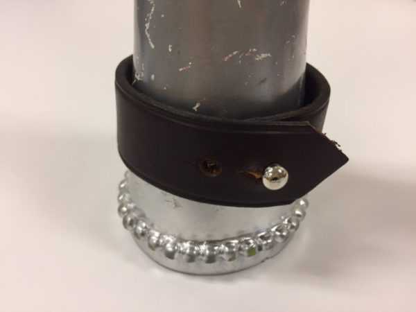 Leather Bullet Cuff Bracelet, Horse Shop Accessory