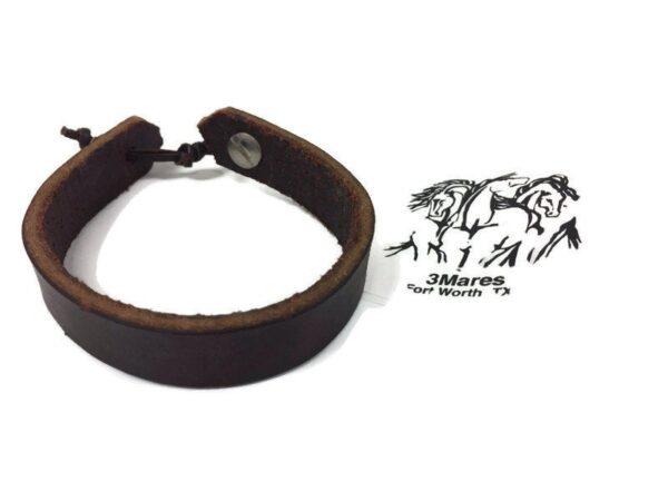 Derby Dreams Bracelet, Recycled Horse Tack, Equestrian Horse Shop