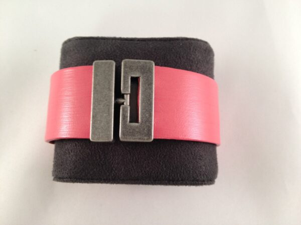 Rarified Air Pink Leather Bracelet, Equestrian Tack Store, Horse